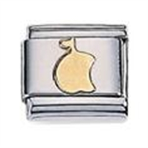 Afbeelding van Zoppini - 9mm - diversen goud Appel