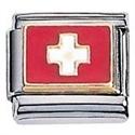 Afbeelding van Zoppini - 9mm - vlaggen Zwitserland