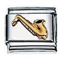 Afbeelding van Zoppini - 9mm - muziek symbolen - saxofoon