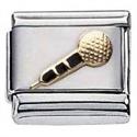 Afbeelding van Zoppini - 9mm - muziek symbolen - microfoon