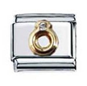 Afbeelding van Zoppini - 9mm - diversen ringetje met zirkonia